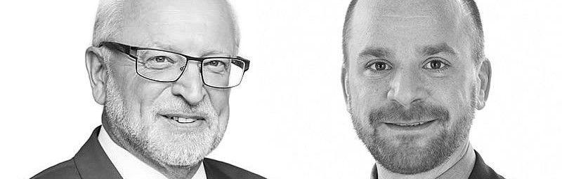 Die Verhandlungsführer der VGZ: Uwe Beyer, Sven Kramer (v.l.)