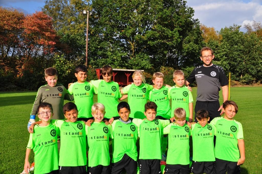 Fußball-Kids der JSG Dörverden